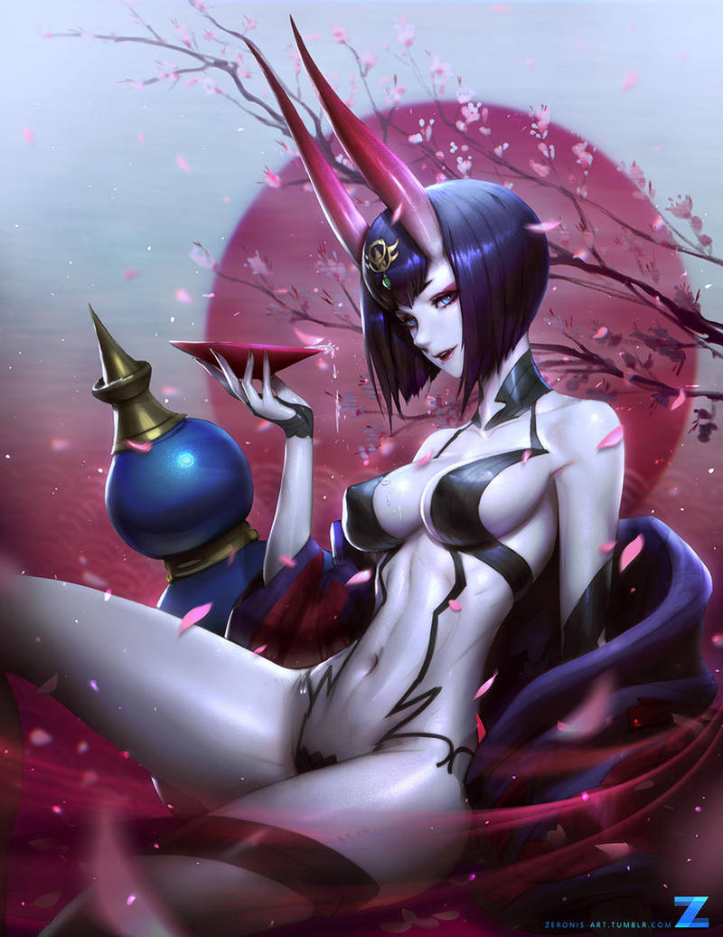 Shuten Douji by Zeronis