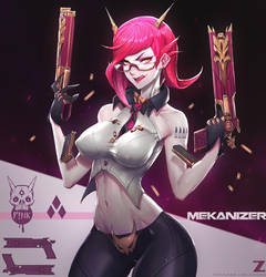 P!nk Trigger - Mekanizer by Zeronis