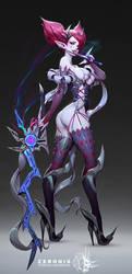Exella- Vampyr by Zeronis