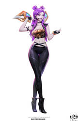 Kaisa KDA Popstar Concept Front Shot Final 01 by Zeronis