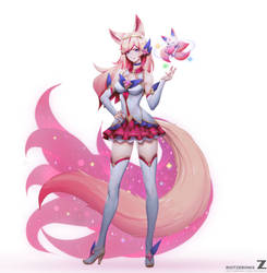 SG S2 Legendary Ahri   Concept Final 02 by Zeronis