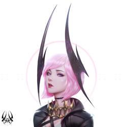 Selena - Pink Devil 08 by Zeronis