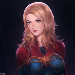 Captain Marvel by Zeronis