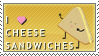 I Love Cheese Sandwiches by pai-thagoras