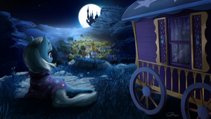 Good night, Ponyville by FinalAspex