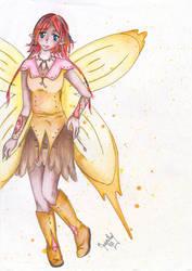 Golden elf by moshi-ZUA