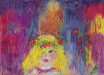 Thumbelina... I think... by moshi-ZUA