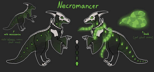 [Personal|Redesign] Someone Had An Epiphany by Necromouser