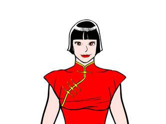 Xiao Lee Headshot by MuneYotsuki