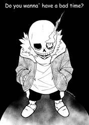 Undertale: Sans by Eudetenis by MuneYotsuki