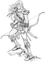 Elf Ranger by staino