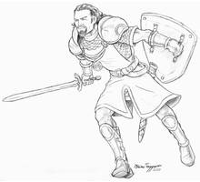 Braimin The Cleric by staino