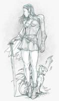 Elf Maiden by staino