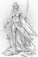 Wizardess by staino