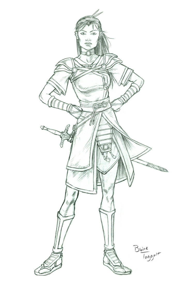 Confident Warrior Lines by staino