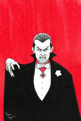 Dracula Lord of Vampires by staino