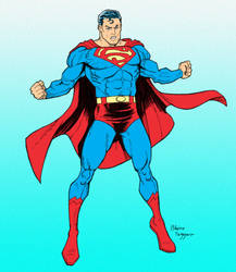 Superman by staino