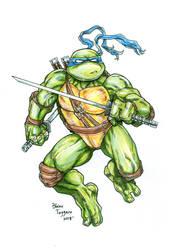 Leonardo by staino