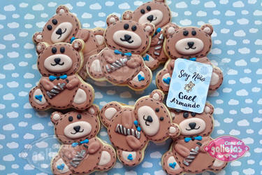 Bears / Cookies by Cosa-de-Galletas