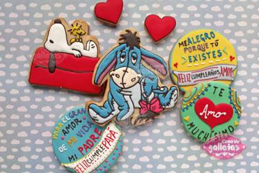 Love / Cookies by Cosa-de-Galletas