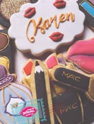 Makeup / Cookies by Cosa-de-Galletas