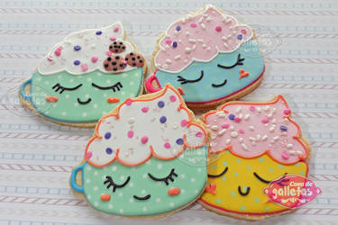 coffee / Cookies by Cosa-de-Galletas