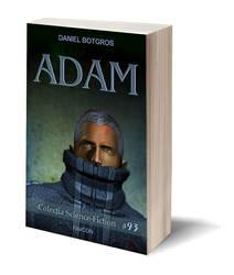 Adam Book Cover by laur2000ad