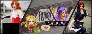 Fujik0 Cosplay - Facebook Page cover by Licunatt