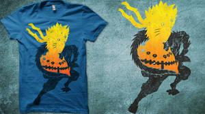 Naruto and Jiraya T-Shirt by Licunatt