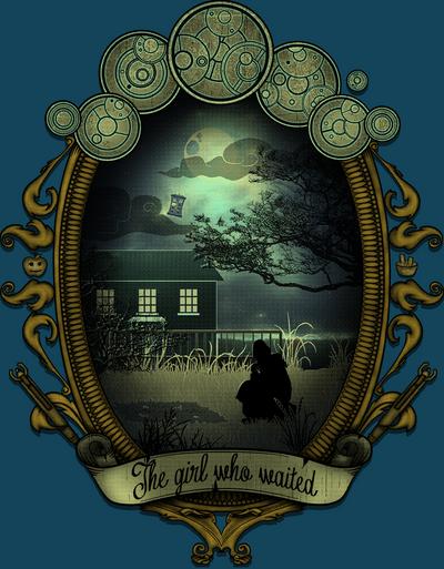 The Girl Who Waited -  Little Amalia Pond by Licunatt