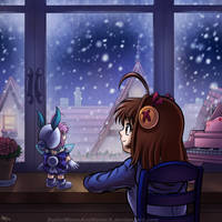 A Winter's Snow by SailorMoonAndSonicX
