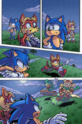 Archie Sonic #173 Redraw 1 by SailorMoonAndSonicX