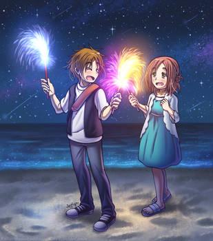 ~Sparklers~ by SailorMoonAndSonicX