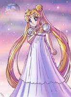 ~Princess Serenity~ by SailorMoonAndSonicX
