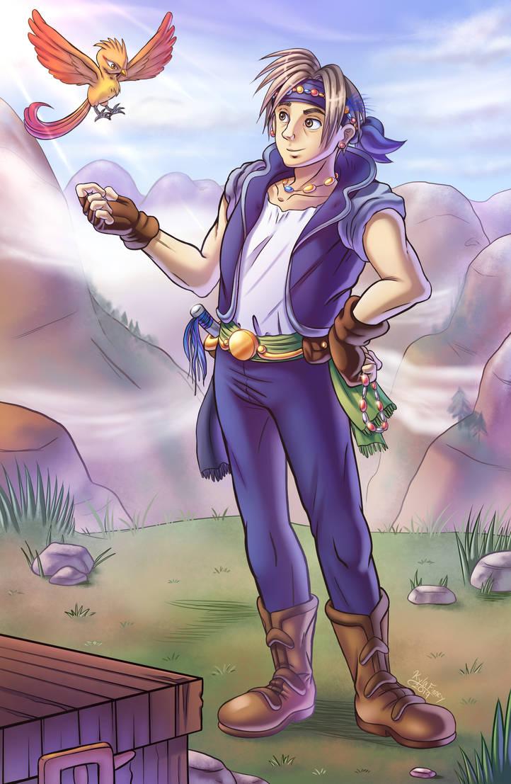 Final Fantasy - Locke Cole by SailorMoonAndSonicX