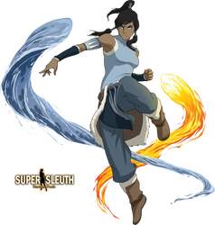 Avatar Korra Render by SuperSleuth10