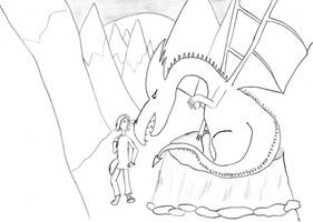 Drago Sets Off by TheEyeShield