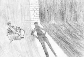 Stiletta Enters Drago's Cell by TheEyeShield