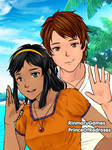 Couple Portrait: Esteban and Zia by TheEyeShield