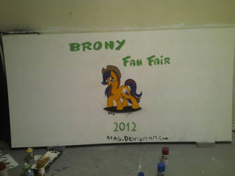 Brony Fan Fair Signature Board by rtagpainting