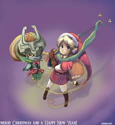 Zelda- Merry Christmas 2007 by BettyKwong