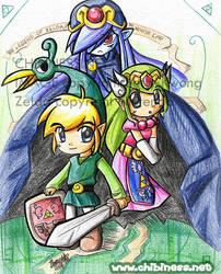 Zelda- The Minish Cap by BettyKwong