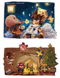Doodle - Merry Smashmas~ by BettyKwong