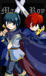 Marth and Roy by BettyKwong