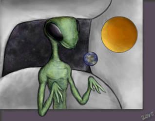 The Insectoid Alien by camarosquid