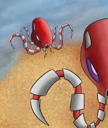 Squid-Vasion by camarosquid