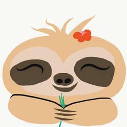 sloth-ing around by nani-vica