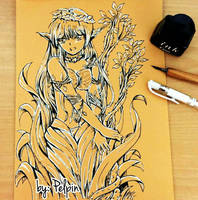 dryad sketch by pelpin