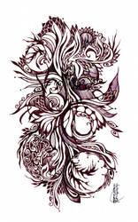Doodle XXIV by Eluminora