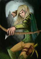 Wood Elf by omgla